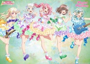 Rating: Safe Score: 11 Tags: bang_dream! dress guitar heels hikawa_hina maruyama_aya shirasagi_chisato tagme wakamiya_eve yamato_maya User: saemonnokami