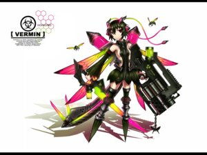 Rating: Questionable Score: 41 Tags: anthropomorphization gia gun mecha_musume sword wallpaper wings User: EternalToXicity16
