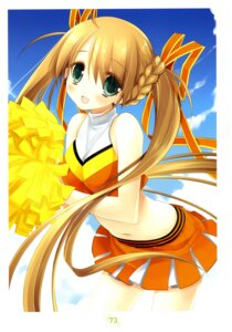 Rating: Safe Score: 32 Tags: cheerleader miyasu_risa User: fireattack