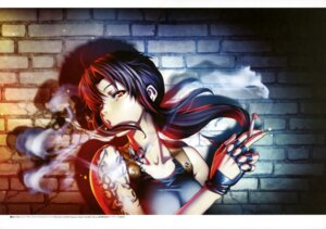 Rating: Safe Score: 30 Tags: black_lagoon hiroe_rei revy smoking tattoo User: drop