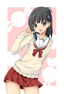 Rating: Safe Score: 46 Tags: aikawa_kizuna mushi024 prunus_girl seifuku trap User: Radioactive