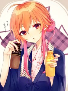 Rating: Safe Score: 27 Tags: japanese_clothes ninomiya_asuka the_idolm@ster the_idolm@ster_cinderella_girls yo_(fu_kumask) User: BattlequeenYume