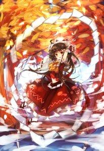 Rating: Safe Score: 31 Tags: hakurei_reimu midori_(artist) miko touhou User: missblack