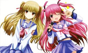 Rating: Safe Score: 41 Tags: angel_beats! detexted satou_rika seifuku yui_(angel_beats!) yusa User: Pilad