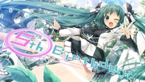 Rating: Safe Score: 43 Tags: daidou hatsune_miku vocaloid wallpaper User: fairyren