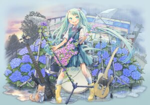 Rating: Safe Score: 21 Tags: hatsune_miku kuinji_51go vocaloid User: hobbito