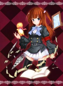 Rating: Safe Score: 13 Tags: miyukirei thighhighs umineko_no_naku_koro_ni ushiromiya_ange User: 洛井夏石
