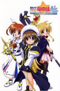 Rating: Safe Score: 10 Tags: fate_testarossa kinako_hiro mahou_shoujo_lyrical_nanoha mahou_shoujo_lyrical_nanoha_a's scanning_dust screening takamachi_nanoha yagami_hayate User: admin2