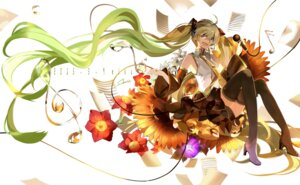 Rating: Safe Score: 33 Tags: hatsune_miku heels saberiii thighhighs vocaloid User: Mr_GT