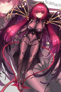 Rating: Questionable Score: 67 Tags: bodysuit cameltoe dk_senie fate/grand_order scathach_(fate/grand_order) thighhighs User: Mr_GT