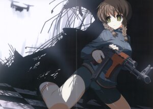 Rating: Questionable Score: 17 Tags: amane_suzuha bike_shorts crease fixme gun steins;gate suzuri User: admin2