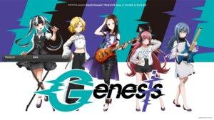 Rating: Safe Score: 8 Tags: bang_dream! dress garter guitar headphones heels tagme wallpaper User: saemonnokami