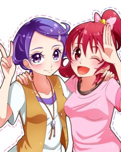 Rating: Safe Score: 7 Tags: aida_mana dokidoki!_precure kenzaki_makoto pretty_cure yupiteru User: charunetra