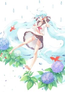 Rating: Questionable Score: 25 Tags: bottle_miku hahahamu hatsune_miku pantsu seifuku vocaloid User: Radioactive