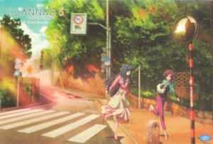 Rating: Safe Score: 9 Tags: clannad clannad_after_story nishina_rie paper_texture sugisaka User: acas