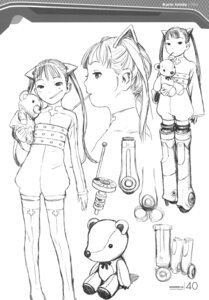Rating: Safe Score: 14 Tags: character_design ishida_karin monochrome range_murata shangri-la sketch User: Share