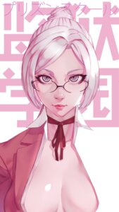 Rating: Questionable Score: 32 Tags: megane no_bra open_shirt prison_school seifuku shiraki_meiko vocky User: charunetra