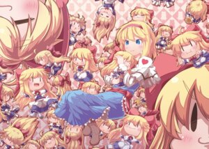 Rating: Safe Score: 11 Tags: alice_margatroid mochi_nabe shanghai touhou User: akusiapa