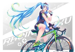 Rating: Safe Score: 52 Tags: bike_shorts hatsune_miku headphones vocaloid zoff_(daria) User: nphuongsun93