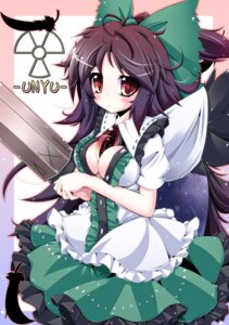 Rating: Safe Score: 11 Tags: cleavage futase_hijiri reiuji_utsuho touhou User: itsu-chan