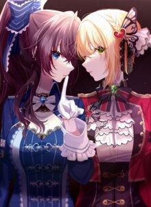 Rating: Safe Score: 23 Tags: cleavage ichinose_shiki misumi_(macaroni) miyamoto_frederica the_idolm@ster the_idolm@ster_cinderella_girls uniform User: Dreista
