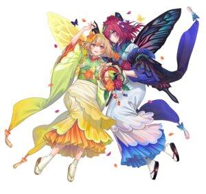 Rating: Questionable Score: 14 Tags: fairy fire_emblem fire_emblem_heroes japanese_clothes kippu nintendo peony_(fire_emblem) pointy_ears tattoo triandra wings User: fly24