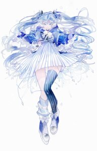Rating: Safe Score: 19 Tags: dress fuyu_no_yoru_miku tagme thighhighs vocaloid User: charunetra