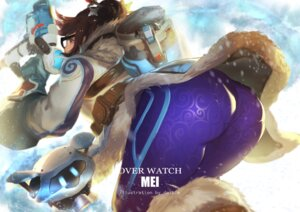 Rating: Questionable Score: 52 Tags: ass daible gun megane mei_(overwatch) overwatch User: Mr_GT