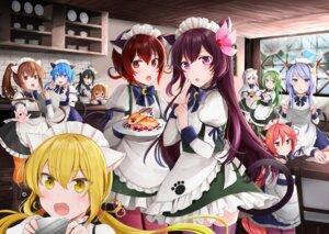 Rating: Safe Score: 23 Tags: animal_ears fumizuki_(kancolle) kantai_collection kikuzuki_(kancolle) kisaragi_(kancolle) maid megane mikazuki_(kancolle) minazuki_(kancolle) mochizuki_(kancolle) mutsuki_(kancolle) nagatsuki_(kancolle) nekomimi pantyhose satsuki_(kancolle) tail thighhighs uzuki_(kancolle) waitress yayoi_(kancolle) yunamaro User: Mr_GT
