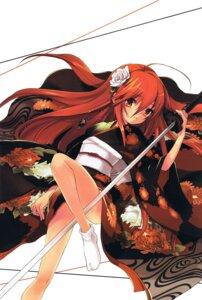 Rating: Safe Score: 20 Tags: kimono sasakura_ayato shakugan_no_shana shana sword User: admin2