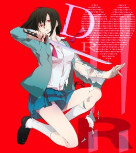 Rating: Safe Score: 22 Tags: durarara!! seifuku sonohara_anri sunna sword torn_clothes User: Radioactive