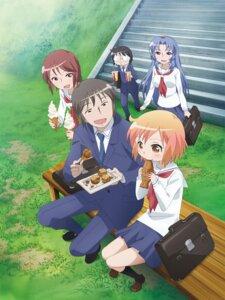 Rating: Safe Score: 14 Tags: kotoura-san kotoura_haruka manabe_yoshihisa megane mifune_yuriko moritani_hiyori muroto_daichi seifuku User: saemonnokami