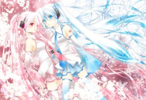 Rating: Safe Score: 13 Tags: cool-ribon hatsune_miku thighhighs vocaloid User: Radioactive