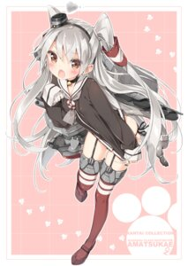 Rating: Safe Score: 72 Tags: amatsukaze_(kancolle) kantai_collection peco rensouhou-chan stockings thighhighs User: 椎名深夏