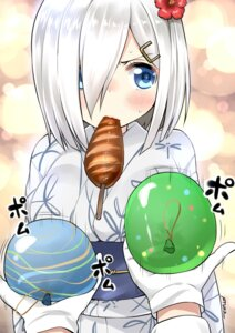 Rating: Safe Score: 22 Tags: hamakaze_(kancolle) kantai_collection ryuki_(pixiv_2328) yukata User: Mr_GT