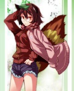 Rating: Safe Score: 12 Tags: animal_ears futatsuiwa_mamizou megane s-syogo tail touhou User: charunetra
