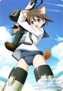 Rating: Safe Score: 17 Tags: miyafuji_yoshika strike_witches takamura_kazuhiro User: Velen