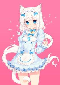 Rating: Safe Score: 31 Tags: animal_ears cleavage maid nekomimi nekopara niniidawns tail vanilla User: Mr_GT