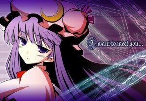 Rating: Safe Score: 8 Tags: iganseijin patchouli_knowledge touhou User: konstargirl