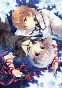 Rating: Safe Score: 36 Tags: kagari_(rewrite) rewrite tatekawa_mako tennouji_kotarou wnb User: Twinsenzw