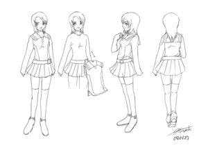 Rating: Safe Score: 3 Tags: character_design hisayuki_hirokazu mai_hime seifuku thighhighs yuuki_nao User: Radioactive