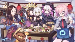 Rating: Safe Score: 18 Tags: armor chacha_(fate/grand_order) fate/grand_order fou_(fate/grand_order) jack_the_ripper leonardo_da_vinci_(fate/grand_order) mash_kyrielight megane nursery_rhyme_(fate/extra) orion_(fate/grand_order) tsubasa_tsubasa User: Mr_GT