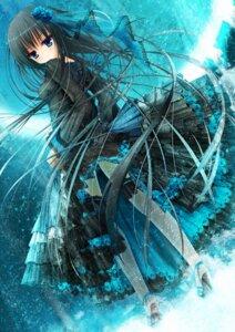 Rating: Safe Score: 37 Tags: dress fishnets gothic_lolita heels lolita_fashion see_through skirt_lift tanishi_0403 thighhighs User: yanis