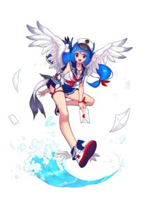 Rating: Safe Score: 21 Tags: blann cleavage seifuku tail wings User: charunetra