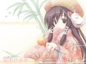 Rating: Safe Score: 12 Tags: cuffs sakura_musubi sera_karen tenmu_shinryuusai wallpaper User: fireattack