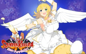 Rating: Questionable Score: 23 Tags: angel cleavage dress heterochromia marvelous_entertainment no_bra ryouna senran_kagura:_bon_appetit wallpaper wings yaegashi_nan User: fly24