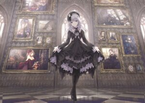 Rating: Safe Score: 51 Tags: dress gothic_lolita heels lolita_fashion missile228 skirt_lift User: Mr_GT