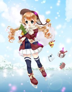 Rating: Safe Score: 6 Tags: dress kashiwagi_sumika thighhighs User: charunetra