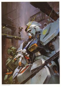 Rating: Safe Score: 5 Tags: char's_counterattack gundam mecha takani_yoshiyuki User: Radioactive