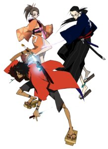 Rating: Safe Score: 3 Tags: fuu jin mugen samurai_champloo User: Radioactive